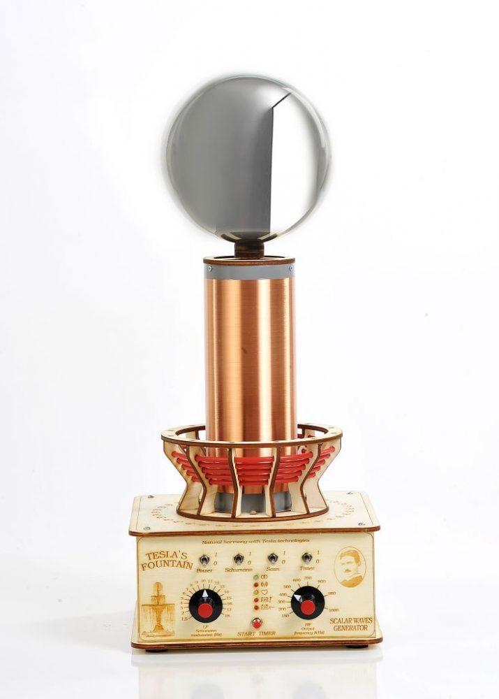 Teslov generator - Profesionalna Teslova fontana