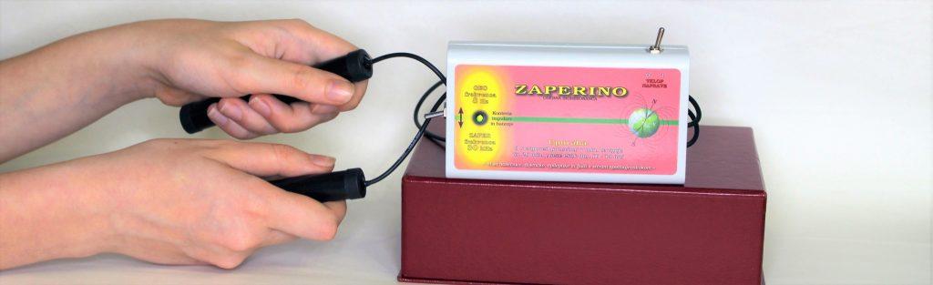 Geo impulzi Bionis in Bionizator in Zaper Zaperino terapija v dlaneh, kjer so akupresurne točke