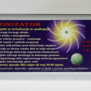 Bionizator ustvarja piezoelektrični učinke z geo impulzi